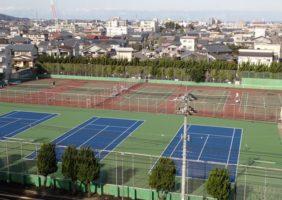 福井大学(文京第2運動場)テニスコート改修工事
